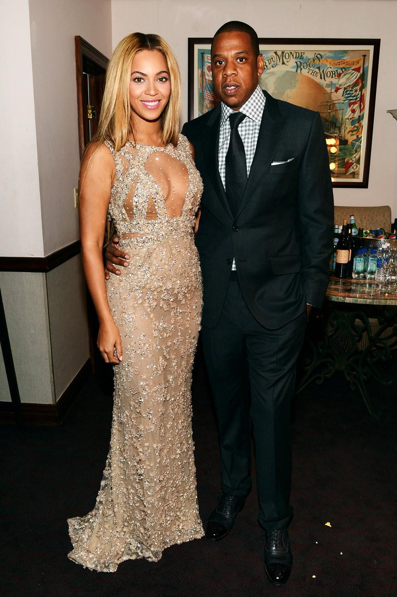 Mąż amerykańskiej wokalistki Beyonce, Jay Z, postanowił wybrać się na koncert żony i świetnie się na nim bawił.