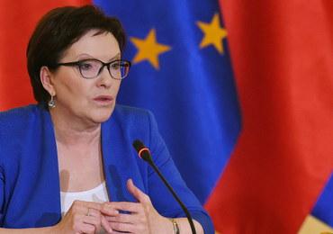 Ewa Kopacz ws. uchodźców: Nikt nas nie szantażuje
