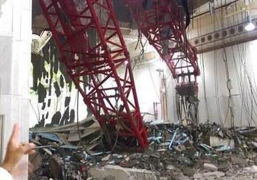Dźwig przewrócił się na Wielki Meczet w Mekce. Zginęło co najmniej 87 osób