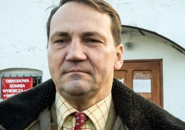Radosław Sikorski ma nowe zajęcie. Będzie doradzał ukraińskim władzom