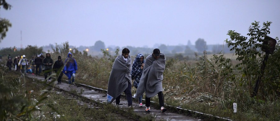 """Ponad 20 imigrantów, którzy przybyli do Niemiec między innymi z Erytrei i Algierii, mieszkają na terenie byłego obozu koncentracyjnego Buchenwald. Lokalne władze twierdzą, że takie rozwiązanie było nieuniknione z powodu fali imigrantów, która codziennie przedostaje się do Niemiec. """"Tu jest dobrze, inni nie mają nawet tego"""" - mówi jeden z imigrantów."""
