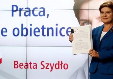 Beata Szydło: Czas słuchania się kończy. Rozpoczyna się czas realizacji