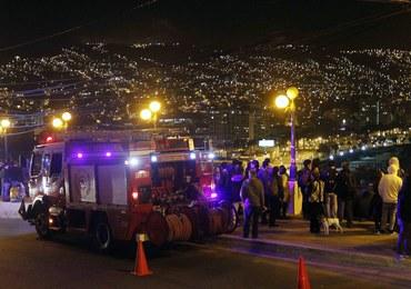 Potężne trzęsienie ziemi u wybrzeża Chile. Ostrzeżenie przed tsunami