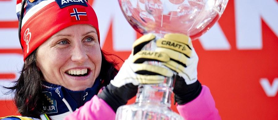"""Będąca w ciąży mulitimedalistka olimpijska i świata w biegach narciarskich Marit Bjoergen ujawniła w sobotę płeć dziecka, które urodzi się w grudniu. """"To chłopiec"""" - oznajmiła Norweżka. Dziennikarze już twierdzą, że będzie to """"następca Pettera Northuga""""."""