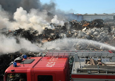 Pożar składowiska śmieci w Lubuskiem: Wszystko wskazuje na podpalenie
