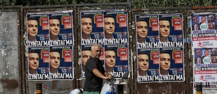 Według sondażu exit poll przeprowadzonego przez pięć greckich stacji telewizyjnych, lewicowa Syriza nieznacznie wygrała niedzielne wybory parlamentarne w Grecji. Nie zdobyła jednak większości umożliwiającej samodzielne rządzenie.