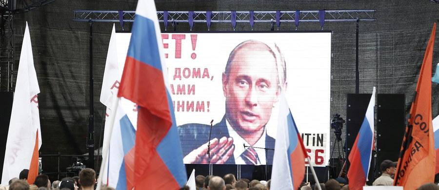 Około 6 tys. osób protestowało w Moskwie przeciwko polityce prezydenta Federacji Rosyjskiej Władimira Putina. Demonstracja, zorganizowana z inicjatywy lidera antykremlowskiej opozycji Aleksieja Nawalnego, odbyła się za zgodą władz.