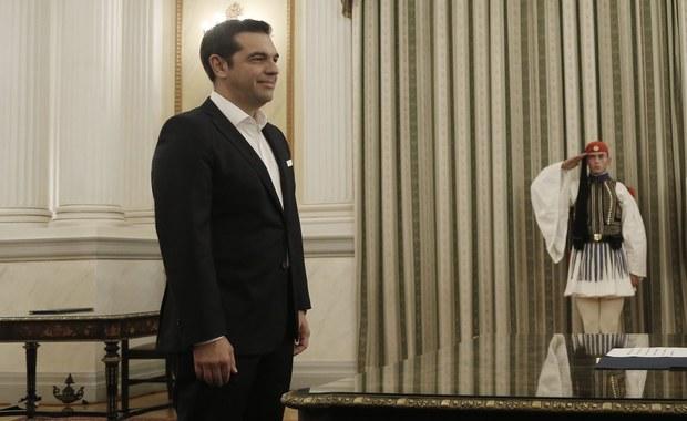 Aleksis Cipras został ponownie zaprzysiężony jako premier Grecji. W niedzielę jego lewicowa Syriza wygrała wybory parlamentarne.