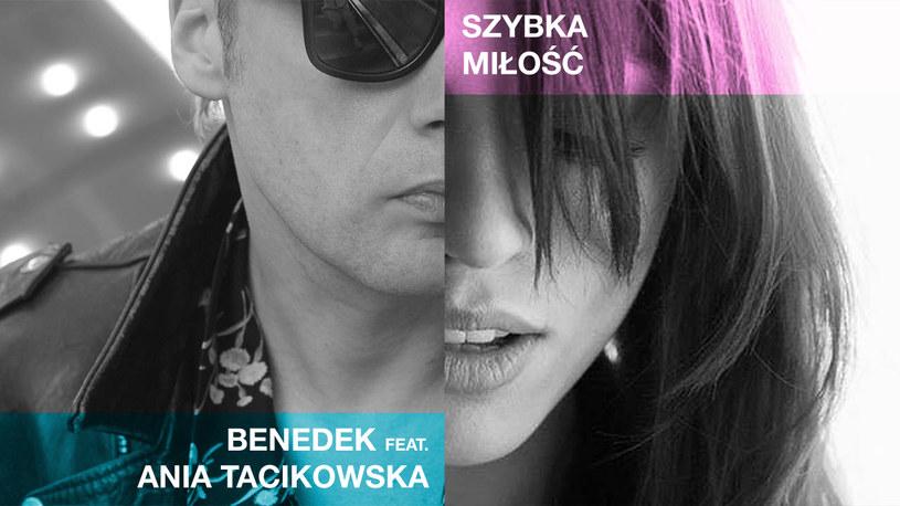 """Poniżej możecie posłuchać utworu """"Szybka miłość"""" nagranego przez Jana Benedeka i Annę Tacikowską, laureatkę trzeciego miejsca w ostatniej edycji """"X Factor""""."""