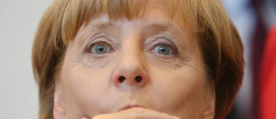 """Kanclerz Niemiec Angela Merkel zaapelowała o jedność Europy i wspólne działania wobec kryzysu uchodźczego. """"Kto ucieka przed wojną i prześladowaniami, może znaleźć schronienie w Europie"""" - powiedziała w Berlinie."""