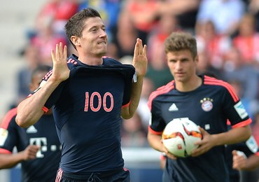 """Wielki dzień """"Lewego"""". Strzelił setnego gola w Bundeslidze"""