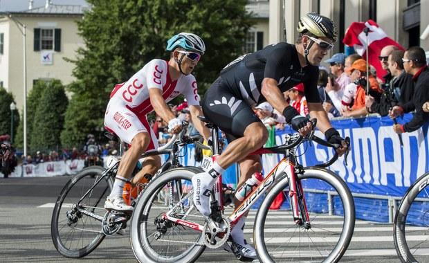 Słowak Peter Sagan zdobył w amerykańskim Richmond tęczową koszulkę kolarskiego mistrza świata w wyścigu ze startu wspólnego elity. Broniący tytułu Michał Kwiatkowski finiszował na ósmym miejscu.