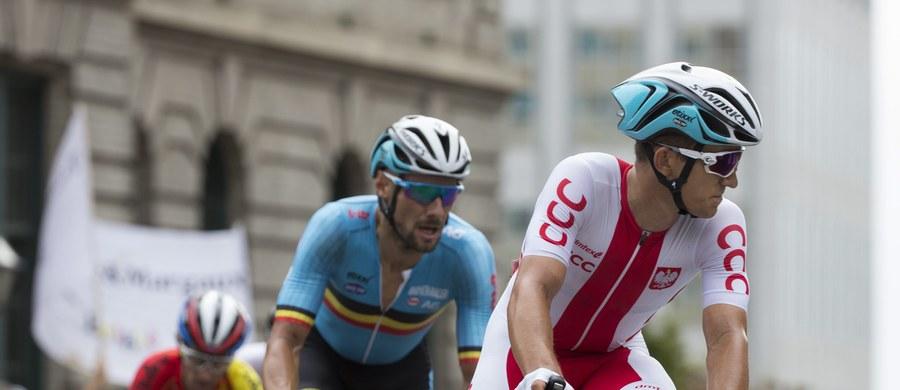 """""""Żałuję, że to nie był mój dzień"""" – przyznał kolarz Michał Kwiatkowski w rozmowie z amerykańskim korespondentem RMF FM Pawłem Żuchowskim. Polak był ósmy na mecie wyścigu elity ze startu wspólnego w Richmond. Tęczową koszulkę kolarskiego mistrza świata zdobył Słowak Peter Sagan. """"Mam nadzieję, że kibice docenili, jak ścigałem się w tęczowej koszulce i jak zespół dawał dzisiaj z siebie wszystko w barwach narodowych"""" – podkreślił Kwiatkowski."""