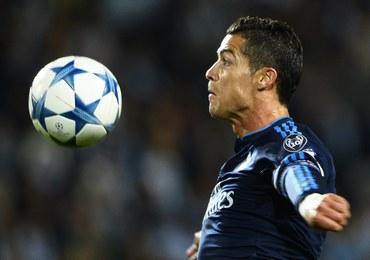 Liga Mistrzów: Jubileuszowy gol Ronaldo