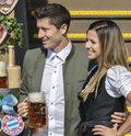 Tak Lewandowski z żoną bawili się na Oktoberfest