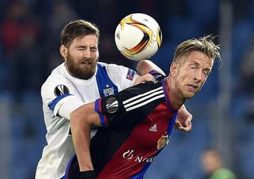 Liga Europejska: Piłkarze Lecha Poznań przegrali na wyjeździe z FC Basel