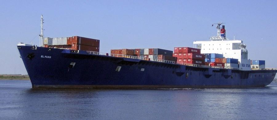 """5 Polaków jest wśród 33-osobowej załogi statku towarowego """"El Faro"""", który zaginął w pobliżu Bahamów po uderzeniu huraganu Joaquin. Statek nadał sygnał SOS. Poszukuje go amerykańska straż przybrzeżna."""