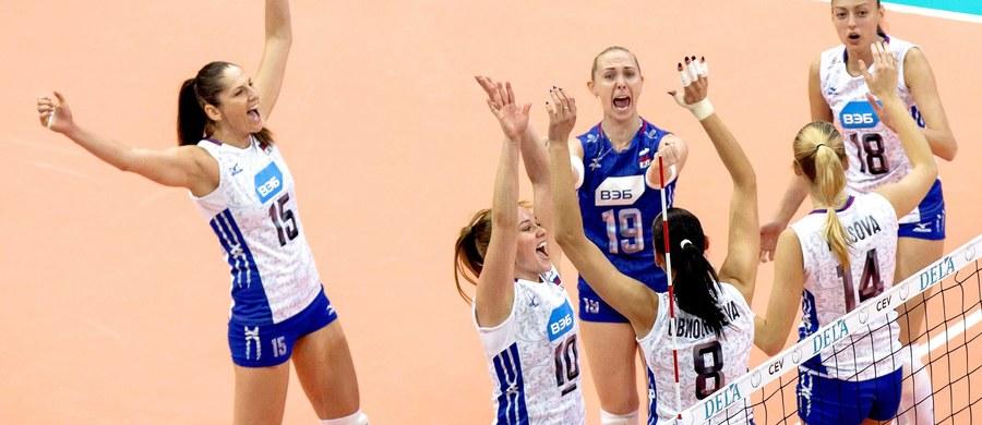 Siatkarki Rosji wywalczyły w Rotterdamie złoty medal mistrzostw Europy. W finale pokonały Holandię 3:0 (25:14, 25:20, 25:20). To szósty tytuł Rosjanek w historii.