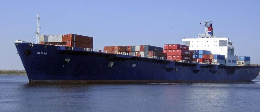 """Statek towarowy """"El Faro"""" zatonął na Bahamach - podaje amerykańska straż przybrzeżna. Wśród członków załogi tej jednostki jest 5 Polaków."""