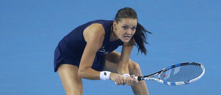 Rozstawiona z numerem czwartym Agnieszka Radwańska awansowała do ćwierćfinału tenisowego turnieju WTA Premier Mandatory na twardych kortach w Pekinie. Jej rywalka Amerykanka Madison Keys skreczowała po przegranym 3:6 pierwszym secie.