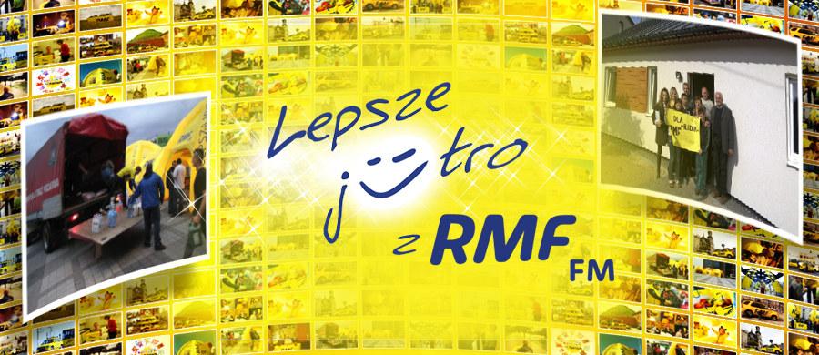 Akcja Lepsze Jutro z RMF FM to projekt, który ma nieść pomoc, wsparcie i nadzieję tym, którzy najbardziej tego potrzebują. Chcemy wraz z Wami odmienić komuś życie i ponownie dać radość - tak, jak stało się to rok temu, gdy pan Grzegorz z Szydłowca oraz jego dzieci zyskali nowy dom i nowe życie.