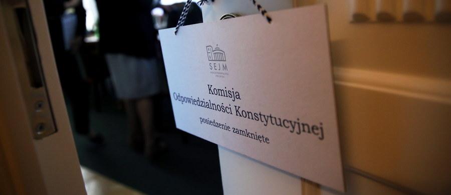 Sejmowa komisja odpowiedzialności konstytucyjnej rozpoczęła w czwartek prace nad wnioskiem o postawienie prezesa NIK Krzysztofa Kwiatkowskiego przed Trybunałem Stanu - powiedział szef tej komisji Robert Kropiwnicki (PO). Dodał, że w związku z tym skierowany do Sejmu wniosek prokuratury o uchylenie prezesowi NIK immunitetu stał się bezprzedmiotowy.