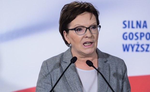 """""""Chcemy tylko jednego: normalności"""" – oświadczyła premier Ewa Kopacz na konwencji Platformy Obywatelskiej w Poznaniu. """"Chcemy przekonać Polaków do naszych racji, bo chcemy zwycięstwa normalności i zdrowego rozsądku nad fanatyzmem – przekonywała."""