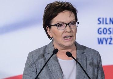 Ewa Kopacz: Chcemy zwycięstwa normalności i zdrowego rozsądku nad fanatyzmem