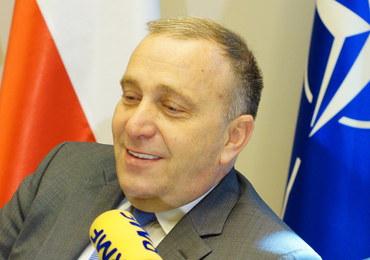 Schetyna: Polska nie będzie się sprzeciwiać zniesieniu sankcji wobec Białorusi