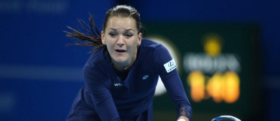 Rozstawiona z numerem drugim Agnieszka Radwańska awansowała do 1/8 finału tenisowego turnieju WTA Tour na twardych kortach w chińskim Tiencinie. W pierwszej rundzie łatwo pokonała Ukrainkę Olgę Sawczuk 6:1, 6:0.