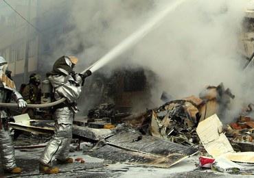 Kolumbia: Mały samolot spadł na domy. Są zabici i ranni