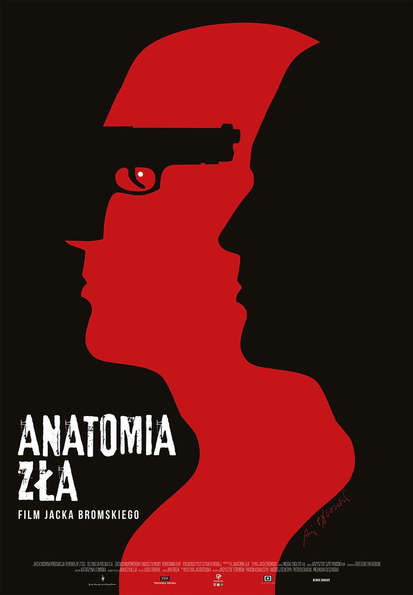 """Kino Świat - dystrybutor thrillera """"Anatomia zła"""" - zaprezentował artystyczny plakat do nowego filmu Jacka Bromskiego autorstwa cenionego artysty – Andrzeja Pągowskiego."""