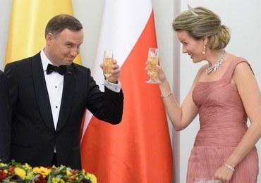 """Duda podjął króla Belgów winem za 12 euro. """"Brakuje wystawności"""""""
