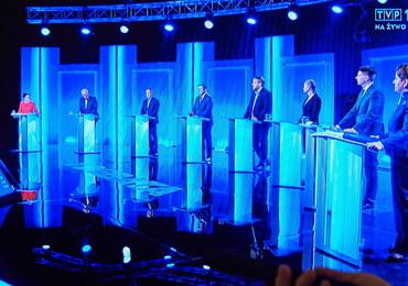 """Debata liderów komitetów wyborczych. """"Wyższe zarobki, silna gospodarka, zmiana"""""""