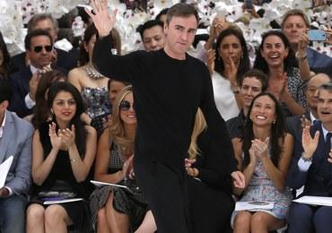 Raf Simons opuszcza dom mody Dior