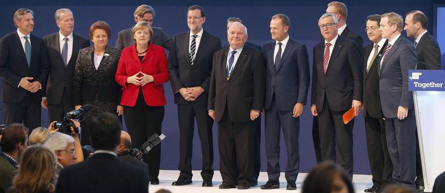 """UE straciła zdolność do ochrony swoich granic - ocenił przewodniczący Rady Europejskiej Donald Tusk w wystąpieniu na kongresie europejskiej centroprawicy w Madrycie. Zaapelował też o zakończenie """"haniebnego sporu"""" o podział uchodźców."""