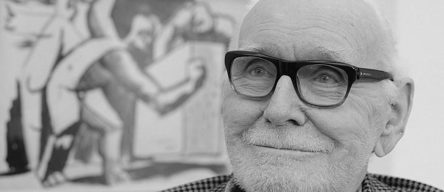 Nie żyje znany polski malarz i rzeźbiarz Wojciech Fangor. Zmarł w Warszawie ok. godz. 14 - poinformował współpracownik artysty Daniel Wnuk. Fangor - malarz, grafik i rzeźbiarz, prekursor malarstwa iluzjonistycznego - zaliczany jest do grona najwybitniejszych polskich artystów XX wieku.