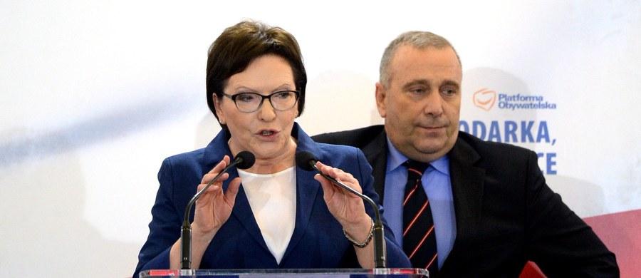 """""""Musimy wyciągnąć wnioski, musimy sobie poważnie porozmawiać o wczorajszym dniu, o dzisiejszym i o tym, co przed nami"""" – powiedział Grzegorz Schetyna podczas wieczoru wyborczego świętokrzyskiej Platformy Obywatelskiej w Kielcach. Według sondażu Ipsos wybory parlamentarne wygrało PiS (39,1 proc. poparcia) przed PO (23,4 proc.). """"Potrzebna jest nowa Platforma, nowe wyzwanie. Jesteśmy po 15 latach, ta partia rzeczywiście przeżyła bardzo wiele i wiele dla Polski zrobiła dobrego, a dzisiaj przegrywa wybory i trzeba z tego trzeba wyciągnąć wnioski"""" – dodał Schetyna."""