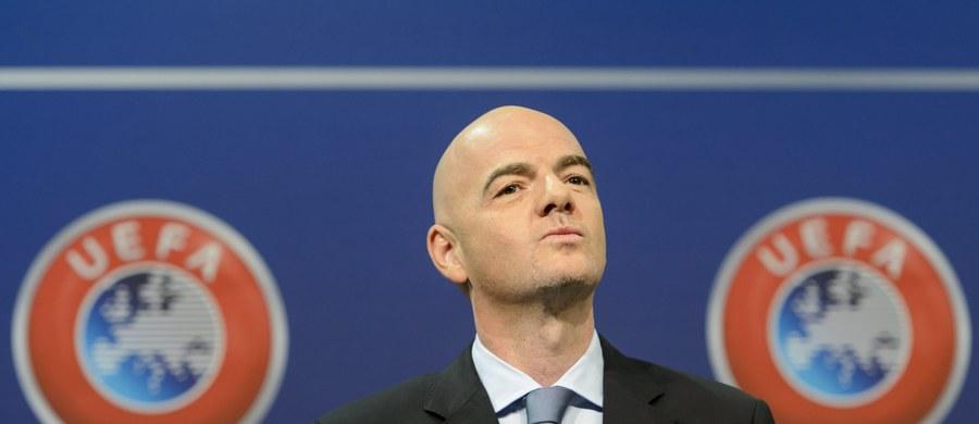 Sekretarz generalny Europejskiej Unii Piłkarskiej Szwajcar Gianni Infantino dostał poparcie organizacji w wyborach na prezydenta FIFA - postanowił Komitet Wykonawczy UEFA. Następca Josepha Blattera zostanie wybrany 26 lutego.