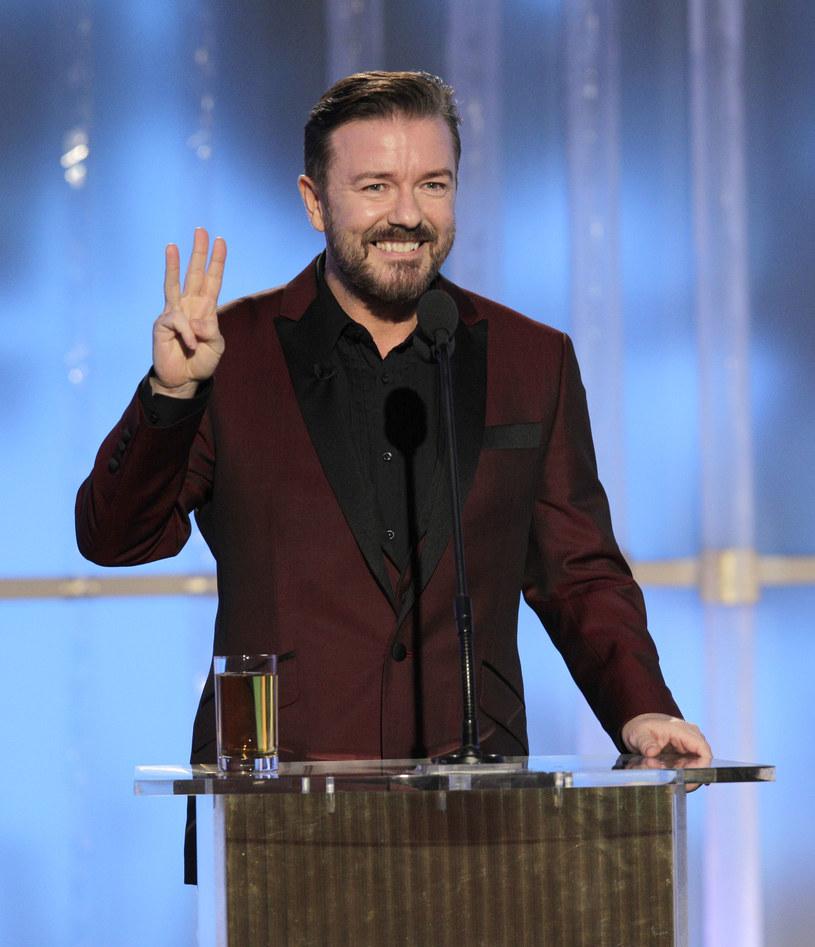 """Gdy brytyjski komik Ricky Gervais został poproszony o poprowadzenie 73. ceremonii rozdania Złotych Globów, początkowo odmówił. W wywiadzie dla magazynu """"Hollywood Reporter"""" zdradził, co skłoniło go do przyjęcia propozycji."""