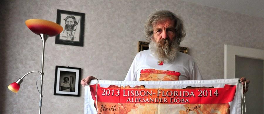 Dwukrotnie mierzył się z Atlantykiem. Teraz szykuje kolejną wyprawę. Aleksander Doba znów chce kajakiem pokonać ocean. Wyruszyć chce wiosną.