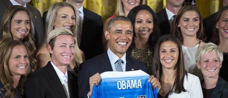 Słynna amerykańska piłkarka Abby Wambach zakończyła karierę. 35-letnia zawodniczka ogłosiła tę decyzję po wizycie w Białym Domu, gdzie drużynę mistrzyń świata gościł prezydent Barack Obama.