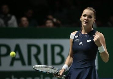 """Agnieszka Radwańska zagra w półfinale WTA Finals. """"Muszę częściej robić sobie wolne"""""""
