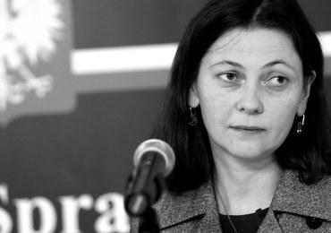 Nie żyje była wiceminister sprawiedliwości. Kilka dni temu została odwołana za jazdę po alkoholu