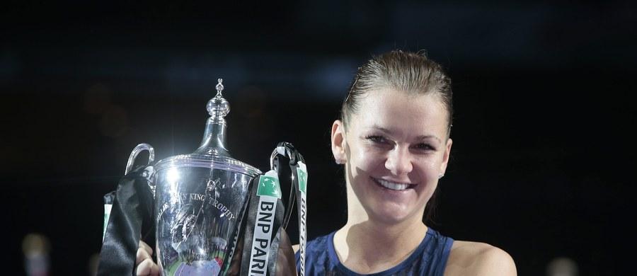 Agnieszka Radwańska osiągnęła największy sukces w karierze. W finale turnieju Masters w Singapurze pokonała po ponad dwugodzinnej walce Czeszkę Petrę Kvitovą 6:2, 4:6, 6:3 i zarobiła ponad 2 miliony dolarów. Po meczu Polka nie kryła wzruszenia.