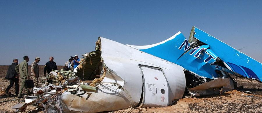 Obrażenia ofiar wskazują na wybuch - to nowe informacje z Rosji w sprawie katastrofy lotniczej na Synaju. Wcześniej agencja TASS podała, że na miejscu odnaleziono elementy niezwiązane z konstrukcją samolotu.