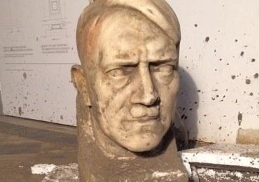 Głowa Hitlera autorstwa Thoraka znaleziona w Muzeum Narodowym w Gdańsku