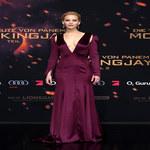 Jennifer Lawrence na premierze ostatniej części