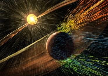 Słońce zdmuchnęło Marsowi atmosferę