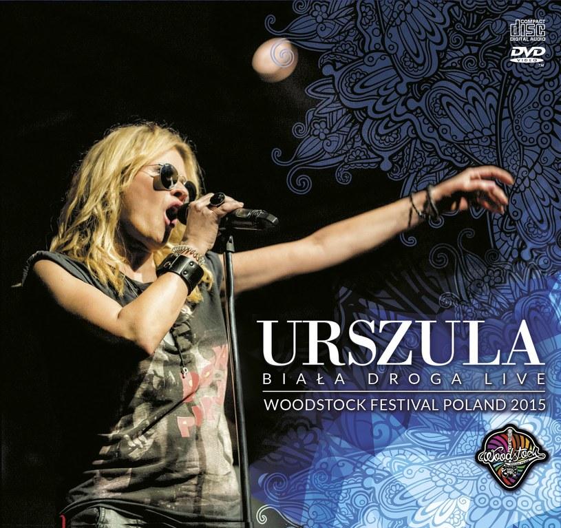 """20 listopada do sprzedaży trafi """"Biała droga live"""" (CD + DVD) - koncert Urszuli z Akademii Sztuk Przepięknych na tegorocznym Przystanku Woodstock."""